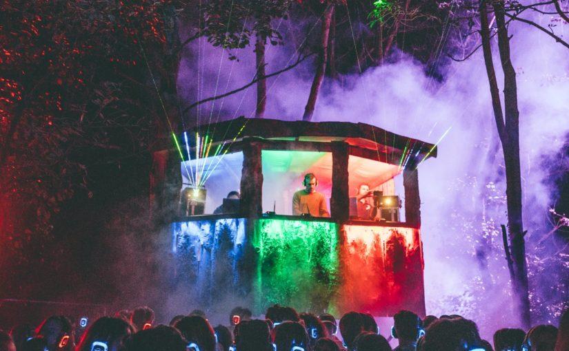 woodland silent disco